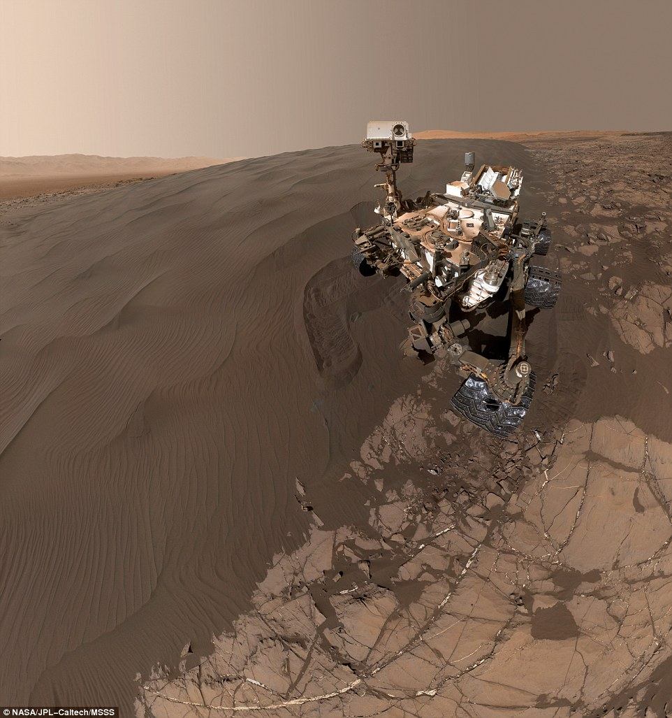 Curiosity-Selfie NASA Curiosity Mars Rover - Let me take a Selfie