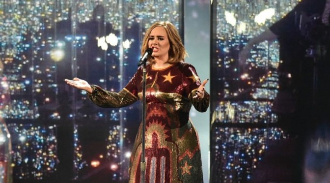 Adele Live Performance