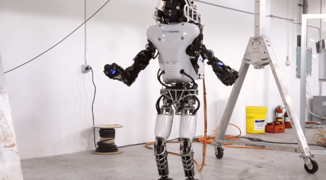 Atlas – Next Generation Robot from Boston Dynamics