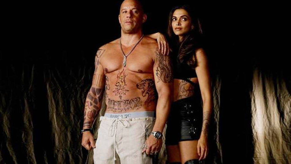 deepika-padukone-vin-diesel Deepika Padukone's Hollywood Debut - xXx: The Return of Xander Cage starring Vin Diesel