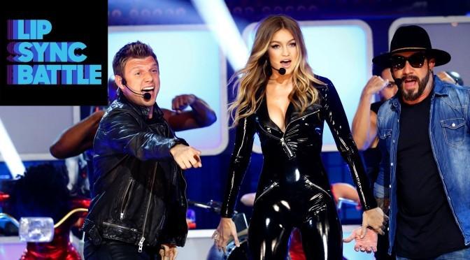 "Lip Sync Battle – Gigi Hadid's ""Larger than Life"" vs. Tyler Posey's ""Take On Me"""