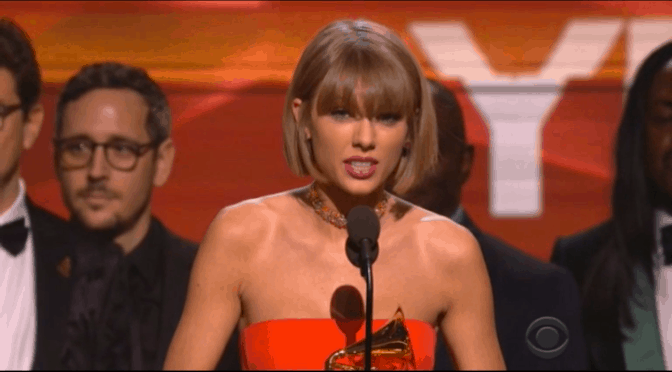 Taylor Swift – 2016 GRAMMY Winner Album of the Year
