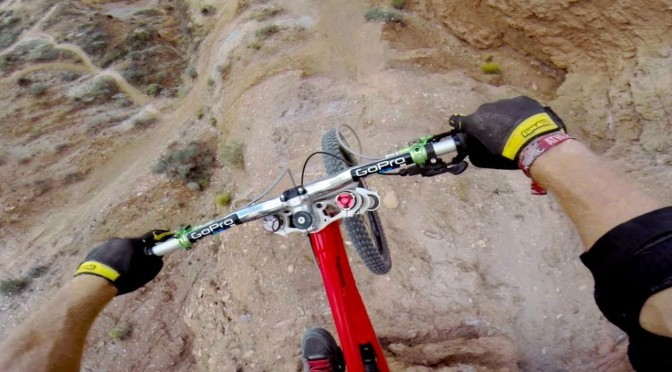 GoPro: Backflip Over 72ft Canyon