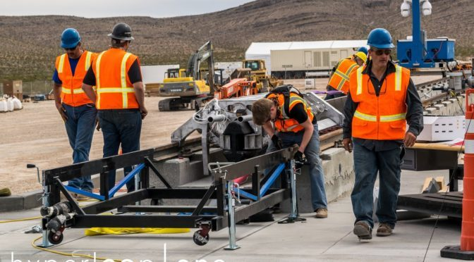 hyperloop one first test
