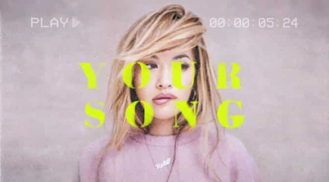 your song rita ora