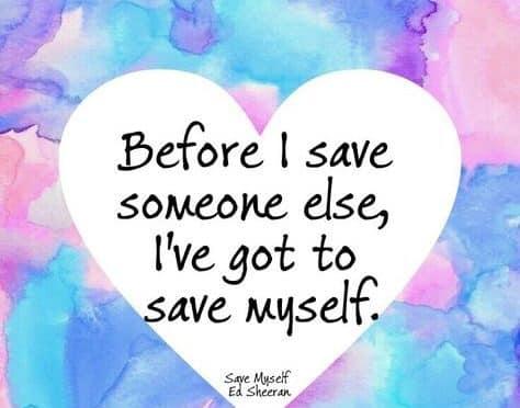 Ed Sheeran  – Save Myself