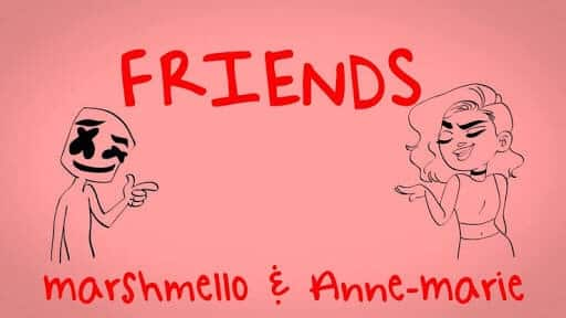 marshmello and anne marie friends