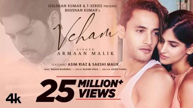 Tu Mera Hai Ye Veham – Armaan Malik | Asim Riaz